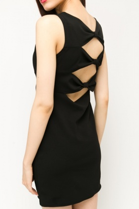 Bow Back Bodycon Dress