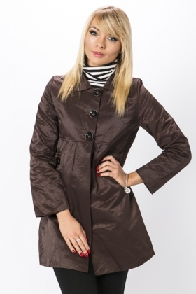 Large Button Front Coat