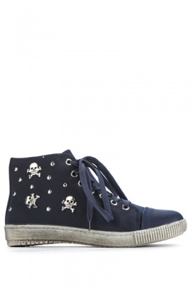 Skull Studded Trainers