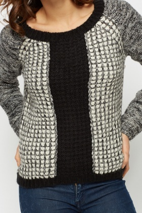Mono Knitted Jumper