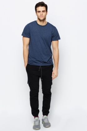 Pocket Denim Trousers