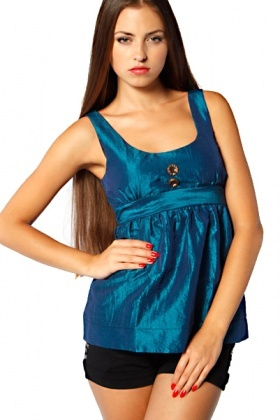 Babydoll Dress Style Top