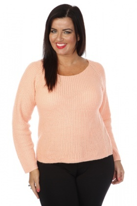 Ribbed Soft Knit Pullover