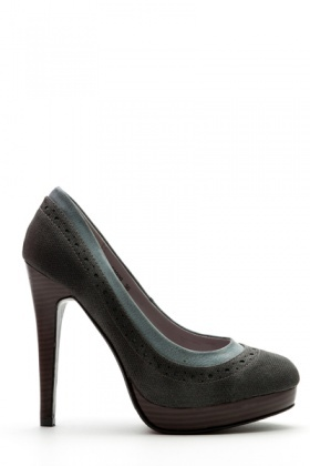 Perforated Textured Heels