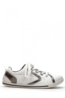 Contrast Trim Trainers