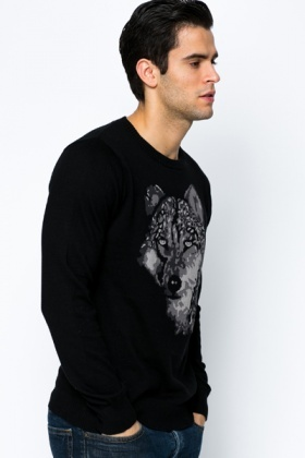 Wolf Knit Jumper