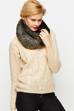 Metallic Blend Snood
