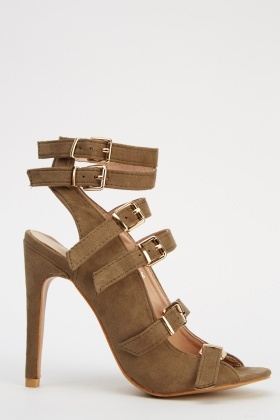 Buckled Heeled Shoes