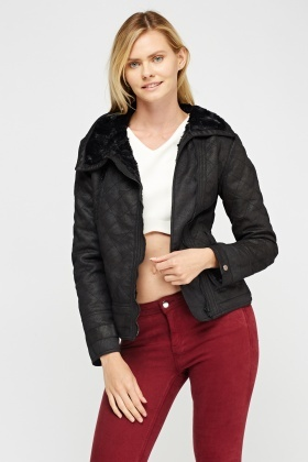I Love To Love Biker Jacket