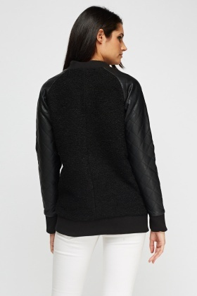 Barney And Taylor Contrast Sleeve Jacket