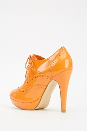 Perforated Trim PVC Shoes