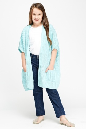 Loose Knit Box Cardigan