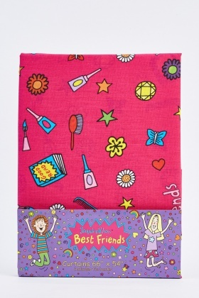 Jacqueline Wilson Best Friends Curtain Set