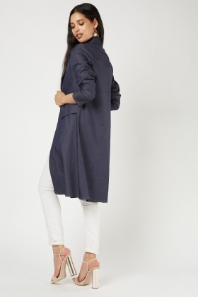 Double Breasted Duster Coat