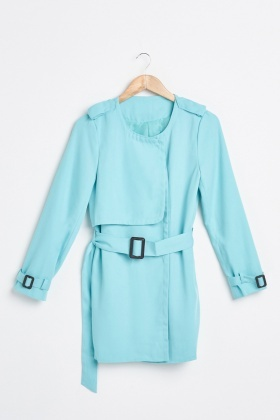 Long-Line Trench Coat