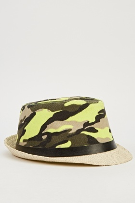 Multi Camouflage Summer Hat