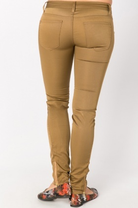 Zip Detail Trousers