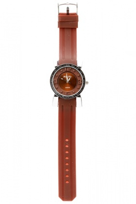 Chronometer Analog Stylish Rubber Watch