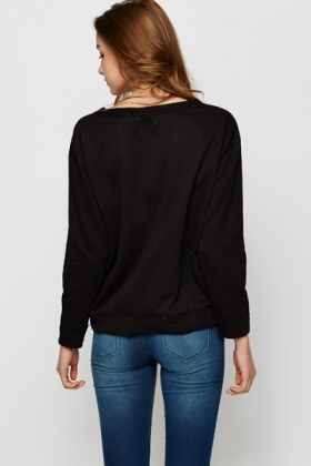 Diamante Encrusted Sweater