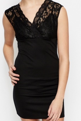 Lace Bodice Dress