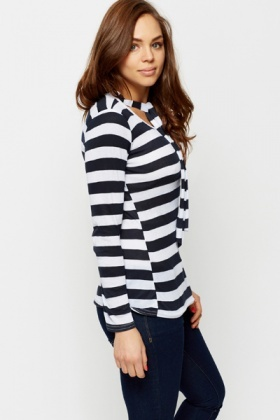 Tie-Up Stripe Tunic