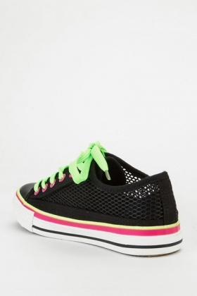 Mesh Multi Colour Sneakers