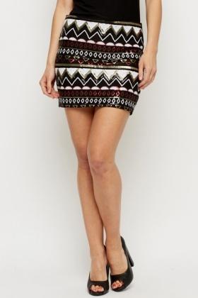 Sparkle Mini Skirt | Jill Dress