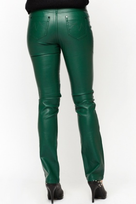 PU Leather Trousers