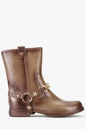 Chain Strap Boots