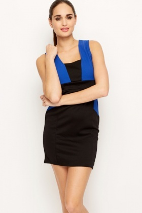 Insert Colourblock Bodycon Dress