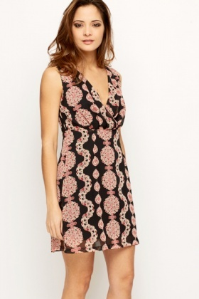 Tapestry Print Summer Dress