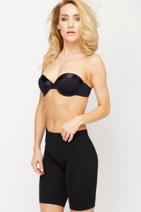 Silky Panel Push Up Bra