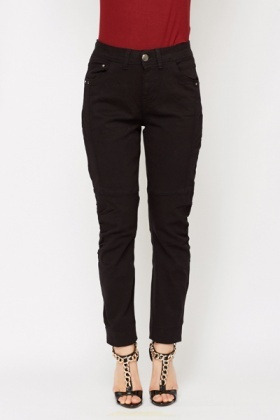 Ruched Knee Trousers