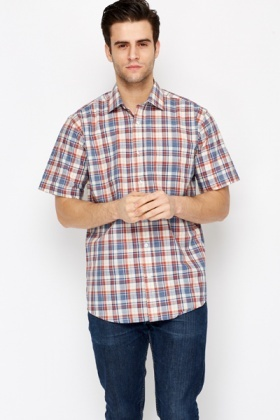 Short Sleeve Multi Colour Shirt