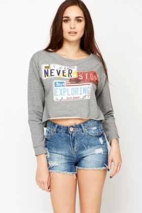 Never Stop Exploring Sweatshirt