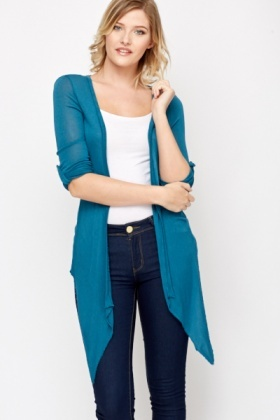 Roll Up Sleeve Cardigan