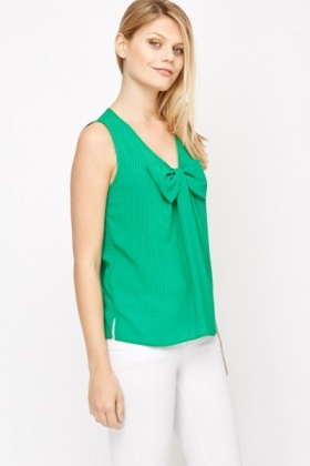 Bow Front Blouse
