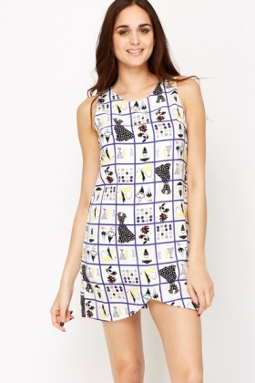 Fashion Grid Dress