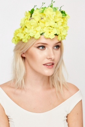 Floral Head Crown
