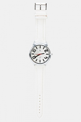 Thin Strap Mens Watch