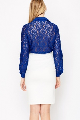 Floral Lace Long Sleeve Shirt