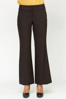 Charcoal Formal Trousers