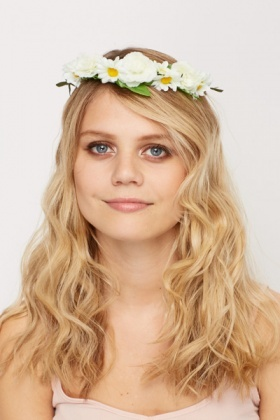 Multi Floral Summer Head Band