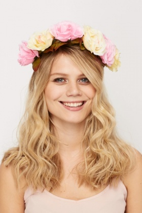 Rose Crown Headband