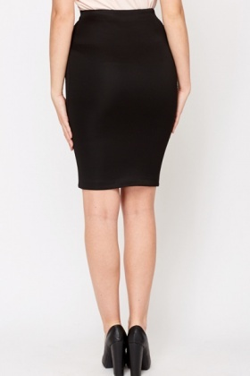 Black Bodycon Skirt - Just £5