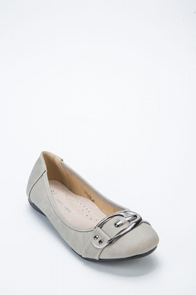 Buckle Front Pumps
