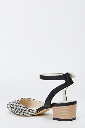 Low Heel Strappy Sandals - Just £5