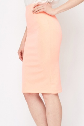 Light Pink Pencil Skirt - Just £5