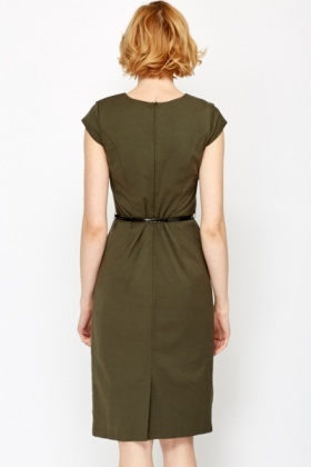 Office Belted Dress