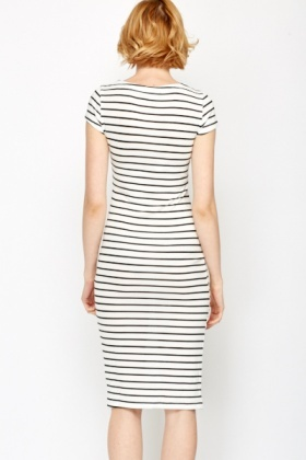 Summer Bodycon Striped Dress